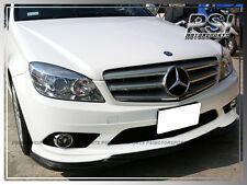 Godhand Style Carbon Fiber Front Bumper Lip Fit 2008-2011 W204 C300 C350 4Dr