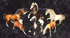 Lot Vintage 60s Breyer Molding Co Traditional Classic Little Bits Glossy Horse