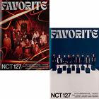 NCT 127 FAVORITE 3rd Repackage Album CD+POSTER+Photo Book+3 Card+B.Mark+etc+GIFT