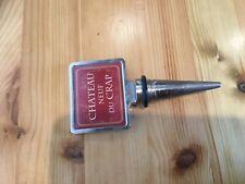 Wine Bottle Stopper. Chateau Neuf joke stopper