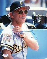 JIM LEYLAND SIGNED AUTOGRAPHED 8x10 PHOTO PITTSBURGH PIRATES PSA/DNA