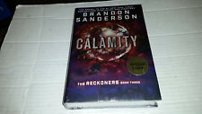 The Reckoners: Calamity by Brandon Sanderson (2016) SIGNED 1st/1st with extras
