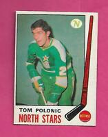 1969-70 OPC # 199 NORTH STARS TOM POLONIC  ROOKIE NRMT CARD (INV# C7807)