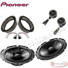 Altavoces delanteros / traseros para PIONEER Volkswagen VW polo 5 2009-> con ada