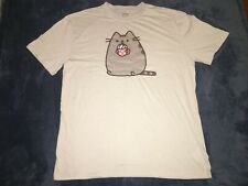 Pusheen Box Exclusive T-Shirt Cat Coffee Mug Milk Foam Cappuccino XL Grey Gray