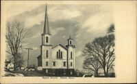 Noank CT Baptist Church c1905 Postcard