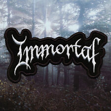 Immortal | Embroidered Patch | Norway | Norwegian Black Metal Band
