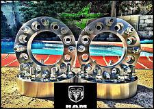 4X 8 Lug Wheel Spacers 1994-2010 Dodge Ram 2500, 3500 Dually | 2 inch HEAVY DUTY