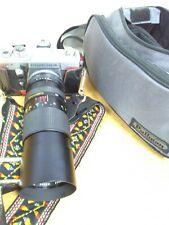 Praktica MTL3 Camera With Vivitar 100-300 62mm Lens, Carry Strap & Bag