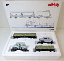 """4 tlg. Güterwagen-Set """"HENKEL"""" ,DB,Märklin ,HO,47898,MHI SoMo 1997,OVP,TOP,CE"""