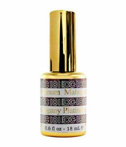DND DC Platinum Glitter Gel PICK YOUR COLOR 6oz 18ml LED/UV Gel Polish