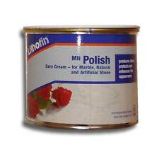 Lithofin MN Polish Cream - Care For Granite & Marble Stone Worktops 500ml