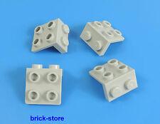 LEGO /gris clair/ 1x2-2x2 angle plaque / 4 pièce