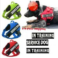 Dog Pet Harness Reflective Service Puppy Outdoor Walking Emotional Dogs Vest USA
