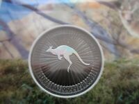 2017 LIMITED EDITION 1 0F 500 .999 SILVER KANGAROO COIN RUTHENIUM & HOLOGRAM Cc1