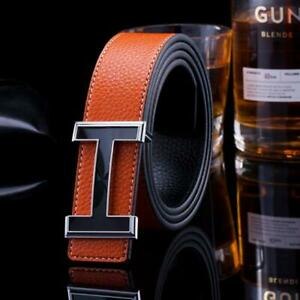 New Luxury Leather Brand Belts