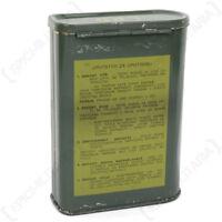 Original Metal Army Box - Surplus Tin Soldier Camping Field Gear Metal Military