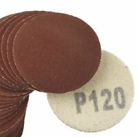 "100 Pack Hook/Loop DA Sanding Grinding Abrasive Pad 120 Grit Discs 2"" (50mm) A"