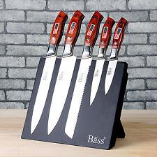 5kinds of magnetic kitchen knife sets for chief,Holder Ergonomic Sharper_on sale