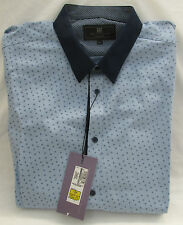 Marks and Spencer Men's Polyester Casual Shirts & Tops