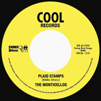 Funk Soul The Monticellos ‎Plaid Stamps 2011 45 RPM Re Cool Records US Vinyl VG+