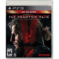 Metal Gear Solid V: The Phantom Pain (Sony PlayStation 3, 2015)