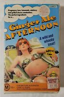 Ginger Ale Afternoon VHS 1989 Comedy Rafal Zielinski Roadshow Video [Ex-Rental]