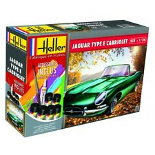 Heller 1/24 Jaguar Type E 328 Ots Cabriolet Ensemble Cadeau #56719