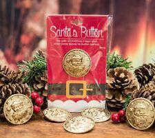Santa Claus' Coat Button For Christmas Eve