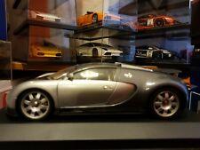 1:18 AUTOart Bugatti Veyron Show Car - Grey/Grey - BOXED