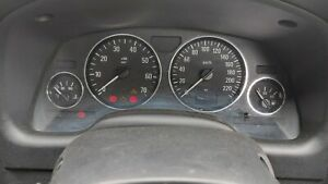 HOLDEN TS ASTRA AUTOMATIC INSTRUMENT DASH CLUSTER ( 272492 KLMS )