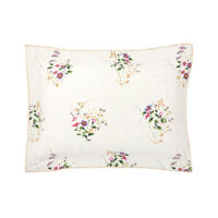 YVES DELORME | ROMANTIC PILLOWCASE 300TC EGYPTIAN COTTON 60% OFF RRP