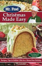 Mr. Food Christmas Made Easy: Recipes, Tips & Edib