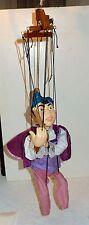 Vintage Pied Piper of Hamelin Marionette