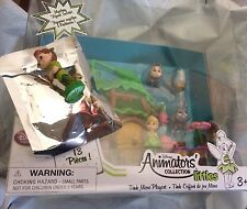 Disney Store Animator's Littles Tinkerbell Doll House Micro Playset PETER PAN