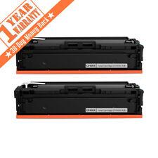 2PK CF400X Black High Yield Toner For HP 201X LaserJet M252dw MFP M277dw M277n