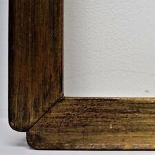 Large Chinoiserie Asian Inspired Mid Century Modernist Gilt Wood Frame 28 x 22