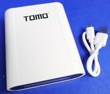 TOMO 18650 Li-ion Battery Anti-overcharge Smart Fast Charger LCD Power Bank Case
