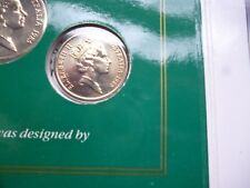 Uncirculated 1985 Australia 5 Cent Coin - Ex Mint Set