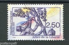 FRANCE 1991, timbre 2701, REVOLUTION, ARBRE DE LA LIBERTE, oblitéré