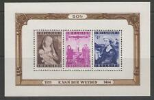 Belgique MBS 1260 1949 social & Fonds culturel tableaux neuf sans charnière
