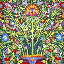 6 x 6 Art Colorful Mural Ceramic Backsplash Decor Flower Tile #809