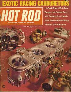 Hot Rod 1970 Jun duster vw eric rickman drag racing car