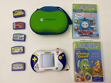 LeapFrog Leapster2 Learning Game System +7 Free Games & Case Toy Story 3 Tested