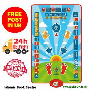 Islamic My Salah Mat - Educational Interactive Prayer Mat & Book for Children