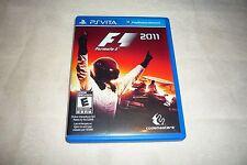 RARE F1 2011 (Sony PlayStation Vita, 2012)   COMPLETE NTSC