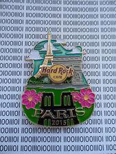 Hard Rock Cafe PARIS - Eiffel tower & Arc de Triomphe - City Icon Serie Logo Pin