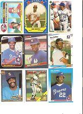 18 CARD KEN GRIFFEY SR BASEBALL CARD LOT             45