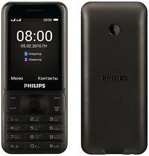 Débloqué Philips Xenium E181 double sim téléphone portable 143 jours en veille neuf