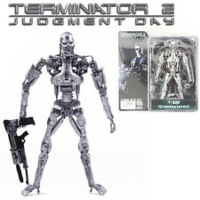 "NECA Terminator 2 Judgment Day T-800 Endoskeleton 7"" PVC Action Figurines Toy"
